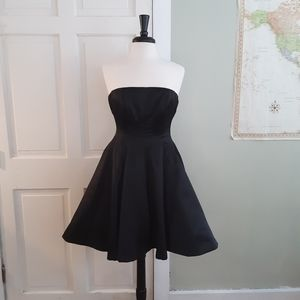 Betsey Johnson vintage black dress with petticoat